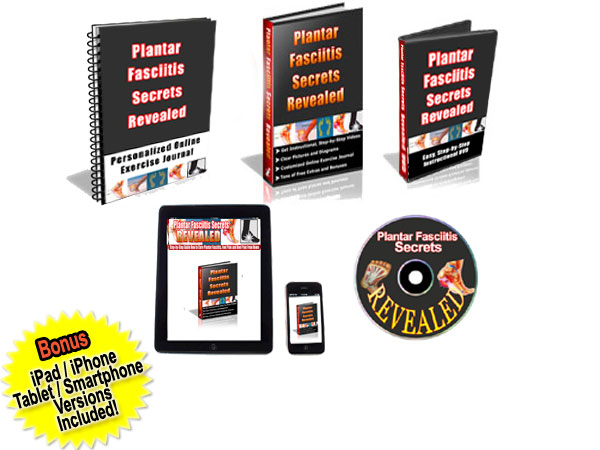 plantar fasciitis secrets revealed treatment package
